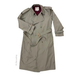 London Fog trench made in Canada